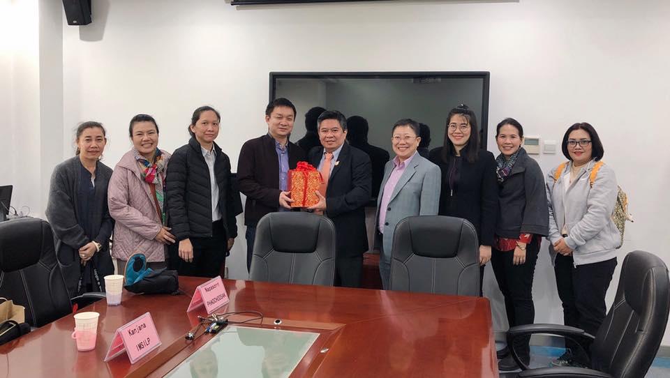 ภาพบรรยากาศการประชุมแลกเปลี่ยนความคิดเห็น ความรู้และประสบการณ์งานวิจัยทางด้านสารพิษจากเชื้อรา ณ เมือง Wuhan สาธารณรัฐประชาชนจีน